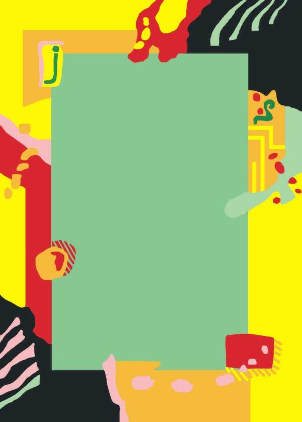 Kamexko Product Kilim rectangle carpet living room children room green