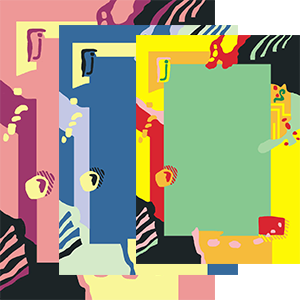 Kamexko Product Kilim rectangle carpet living room children room pink green blue