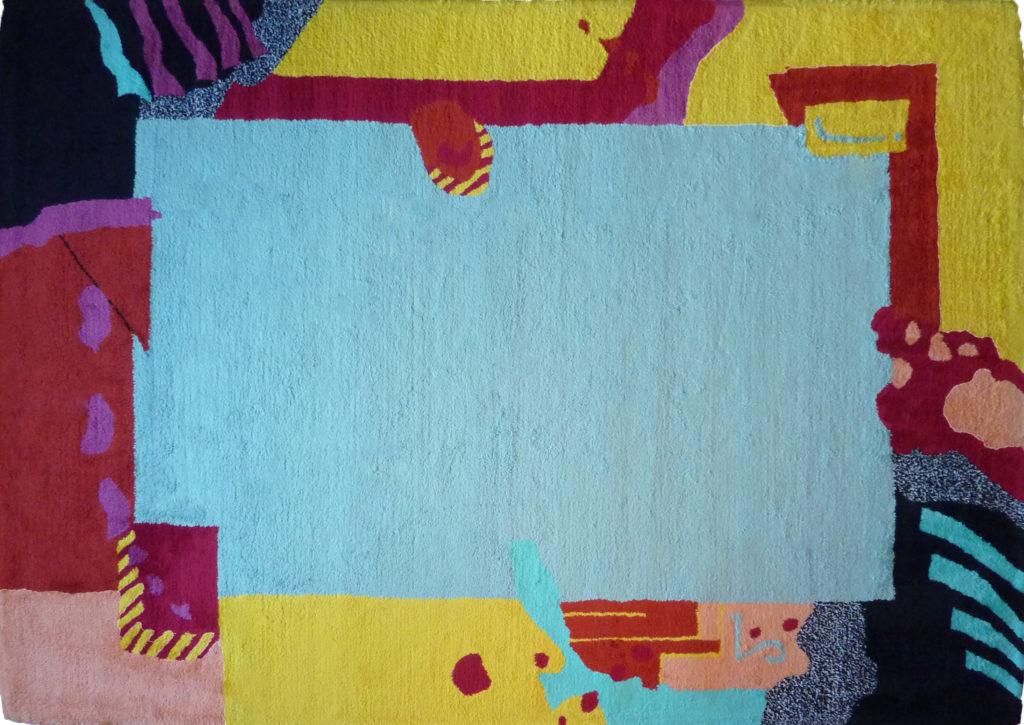 Kamexko Product Kilim rectangle carpet living room children room green Collage Pour Enfant clear