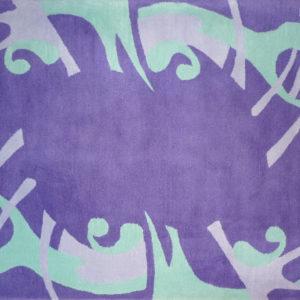 Kamexko Product Kilim rectangle carpet living room purple Magic