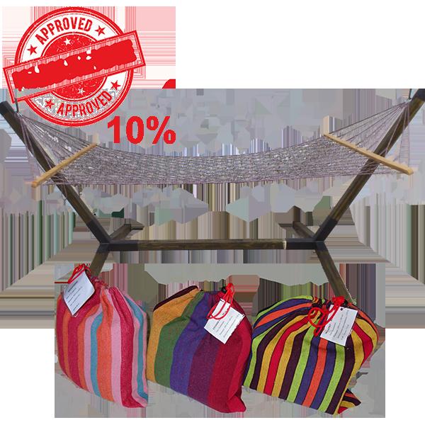 Kamexko Gradina 04 Product Stoika+hamak Promo 10%
