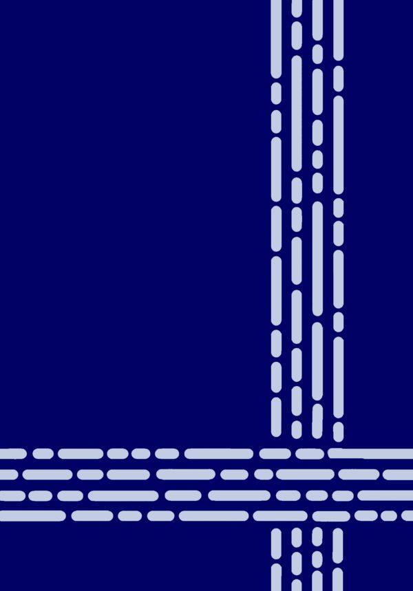 Kamexko Product Kilim rectangle carpet living room BLUE